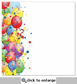 Balloon Border 12 x 12 Paper