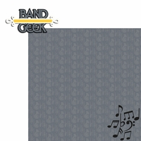 Band: Band Geek 2 Piece Laser Die Cut Kit