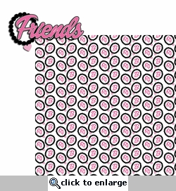 Barbie: Friends 2 Piece Laser Die Cut Kit