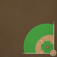 Baseball: All about base 12 x 12 Paper