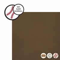 Baseball: Eat Sleep Baseball 2 Piece Laser Die Cut Kit