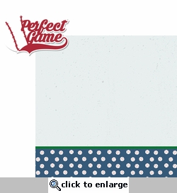 Baseball Fever: Perfect Game 2 Piece Laser Die Cut Kit
