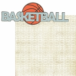 Basketball 2 Piece Laser Die Cut Kit