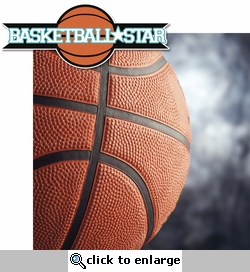 Basketball: Basketball Star 2 Piece Laser Die Cut Kit