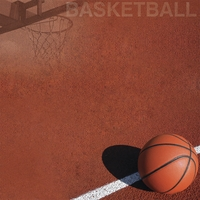 Basketball: Hoops 12 x 12 Paper