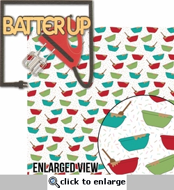 Batter Up: Batter Up 2 Piece Laser Die Cut Kit