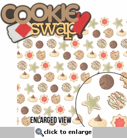 Batter Up: Cookie Swap 2 Piece Laser Die Cut Kit