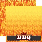 BBQ 12 x 12 Double-Sided Cardstock