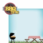 BBQ: BBQ Time 2 Piece Laser Die Cut Kit