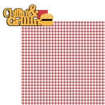 BBQ:Chinnlin' and Grillin' 2 Piece Laser Die Cut Kit