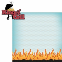BBQ: King Of The Grill 2 Piece Laser Die Cut Kit