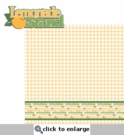 BBQ: Lemonade Stand 2 Piece Laser Die Cut Kit
