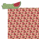 BBQ: Sweet Watermelon 2 Piece Laser Die Cut Kit