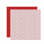Be Mine Dots 12 x 12 Shimmer Double-Sided Paper