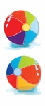 Beach Balls Jolee's Boutique Dimensional Slim Stickers