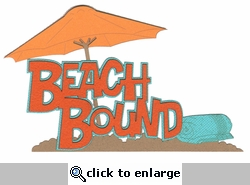 Beach Bound Laser Die Cut