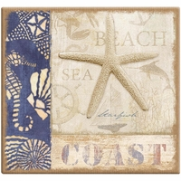 Beach Coast 12 x 12 Scrapbook Album