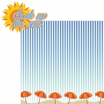 Beach Days: Soak Up The Sun 2 Piece Laser Die Cut Kit