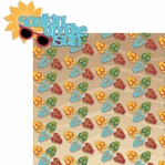Beach Fun: Soakin' up the Sun 2 Piece Laser Die Cut Kit