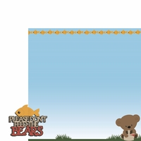 Bear Cub: Don't Feed 2 Piece Laser Die Cut Kit