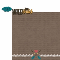 Bear Tribe: Wild Child 2 Piece Laser Die Cut Kit