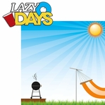 Beat The Heat: Lazy Days 2 Piece Laser Die Cut Kit