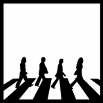 Beatles: Abbey Road 12 x 12 Overlay Laser Die Cut