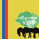 Beatles: Love is all you need 12 x 12 Paper