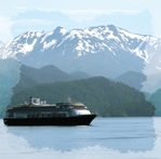 Beautiful Alaska: Cruise 12 x 12 Paper
