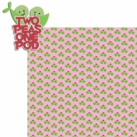 Belong 2gether: 2 peas one pod 2 Piece Laser Die Cut Kit