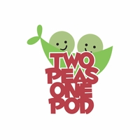 Belong 2gether: 2 peas one pod Laser Die Cut