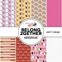 Belong 2gether Assorted 12 x 12 Paper Pack