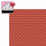 Belong 2gether: We are a Match 2 Piece Laser Die Cut Kit