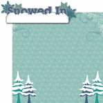 Below Zero: Snowed In 2 Piece Laser Die Cut Kit