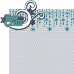 Below Zero: Winter Chill 2 Piece Laser Die Cut Kit