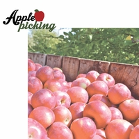 Berry Picking: Apple Picking 2 Piece Laser Die Cut Kit