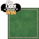 Big Game: Go Fight Win 2 Piece Laser Die Cut Kit