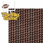 Big Game: The Big Game 2 Piece Laser Die Cut Kit