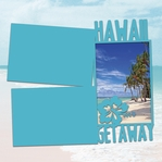Big Island: Hawaii Getaway Panorama 2 Piece Laser Die Cut Kit