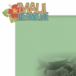 Big Island: Maui 2 Piece Laser Die Cut Kit