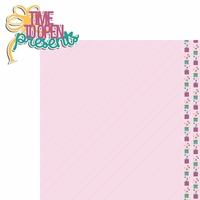 Big Wish: Pink Time to open Presents 2 Piece Laser Die Cut Kit