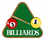 Billiards Laser Die Cut