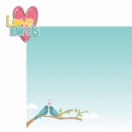 Birds:  Love Birds 2 Piece Laser Die Cut Kit