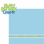 Birthday Bash: Champ 2 Piece Laser Die Cut Kit