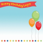 Birthday Bash: Custom Banner 12 x 12 Paper