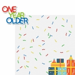 Birthday Bash: One Year Older 2 Piece Laser Die Cut Kit