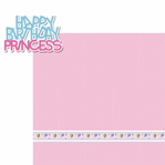 Birthday Bash: Princess 2 Piece Laser Die Cut Kit