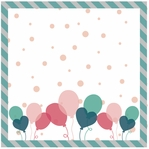 Birthday: Party Time Girl 12 x 12 Paper