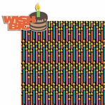Birthday Wishes: Wish Big 2 Piece Laser Die Cut Kit