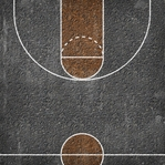 Blacktop Court 12 x 12 Double-Sided Paper